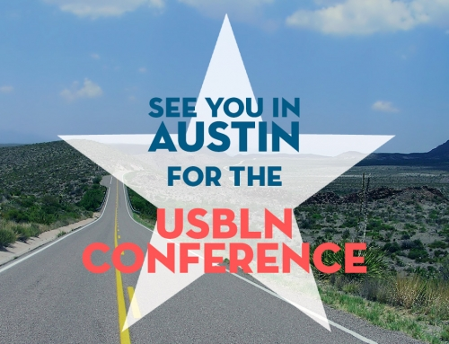 See you in Austin at the USBLN Conference!