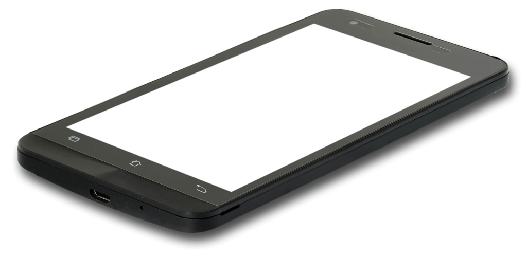 Photo of a smartphone.